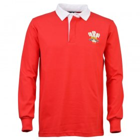 Wales 1976 Rugby Trikot